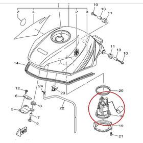 Bomba De Gasolina Completa Yamaha Xtz250 Original