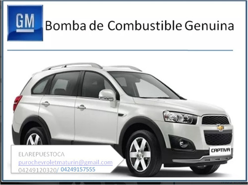 bomba de gasolina para chevrolet captiva original gm
