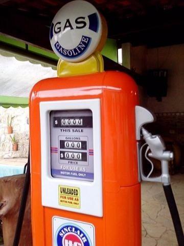 bomba de gasolina - pronta entrega côr laranja