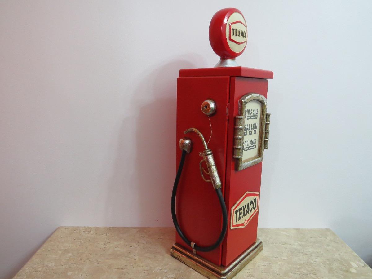 Bomba de gasolina texaco porta objetos retr vintage r - Objetos vintage ...
