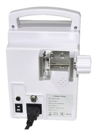 bomba de infusión de líquidos iv con alarma visual uci ccu