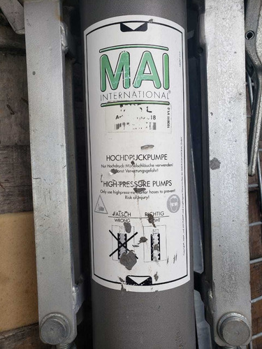 bomba de inyección de concreto