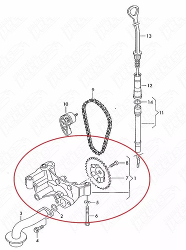 Bomba De Leo Do Motor Audi A4 2 0 Multitronic 01 03 Origin