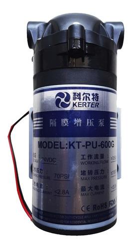 bomba de presión impulsión diafragma 600 gpd kerter osmosis