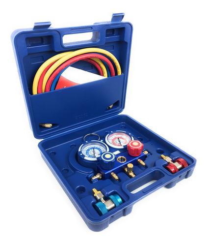bomba de vacio 3cfm 1/4hp manometros a/c thorn tools