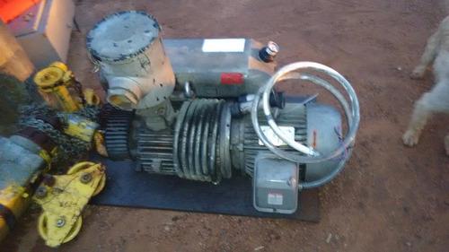 bomba de vacio de 7.5 hp marca busch buena