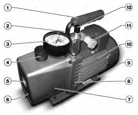 bomba de vacio dosivac dvl 150 laboratorio