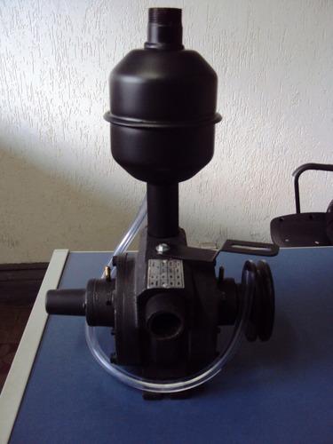 bomba de vácuo 500 litros c/ silencioso ordenha ordenhadeira
