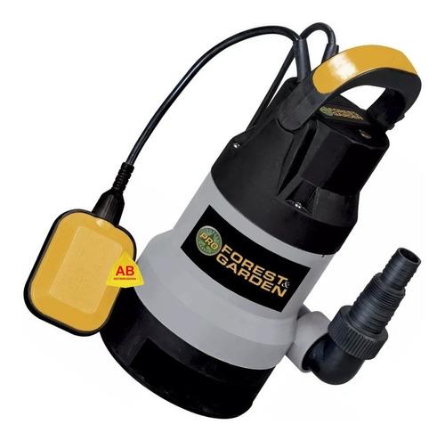 bomba desagote agua sucia cloacal sumergible 3/4 hp 7 mts ab