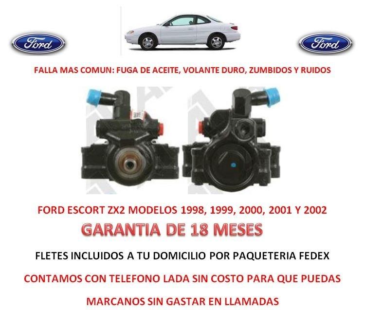 Bomba Direccion Hidraulica Licuadora P/ Caja Ford Escort