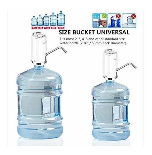 bomba eléctrica de agua potable, galón universal botella dis