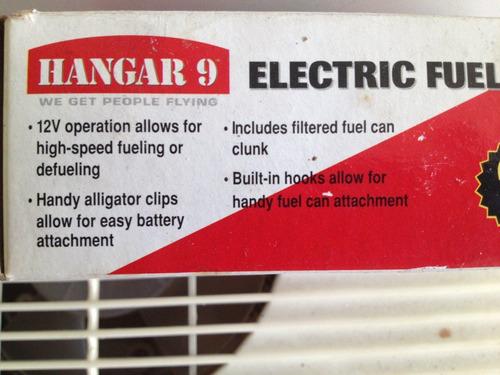 bomba electrica de combustible para modelismo rc hangar 9