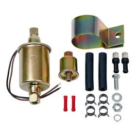 Bomba Electrica Universal Caburador Nafta Cebado De Gasoil