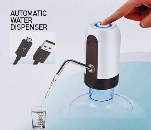 bomba elétrica p garrafão galão água recarregável com usb