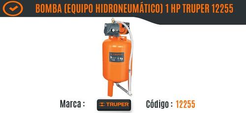 bomba equipo hidroneumático 1 hp 100 l truper 12255