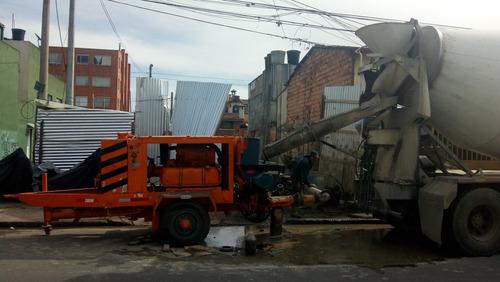 bomba estacionaria para concreto schwing bp250