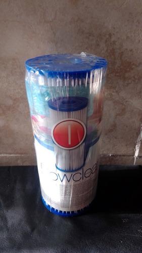 bomba filtrante bestway 58145 + 2 filtros