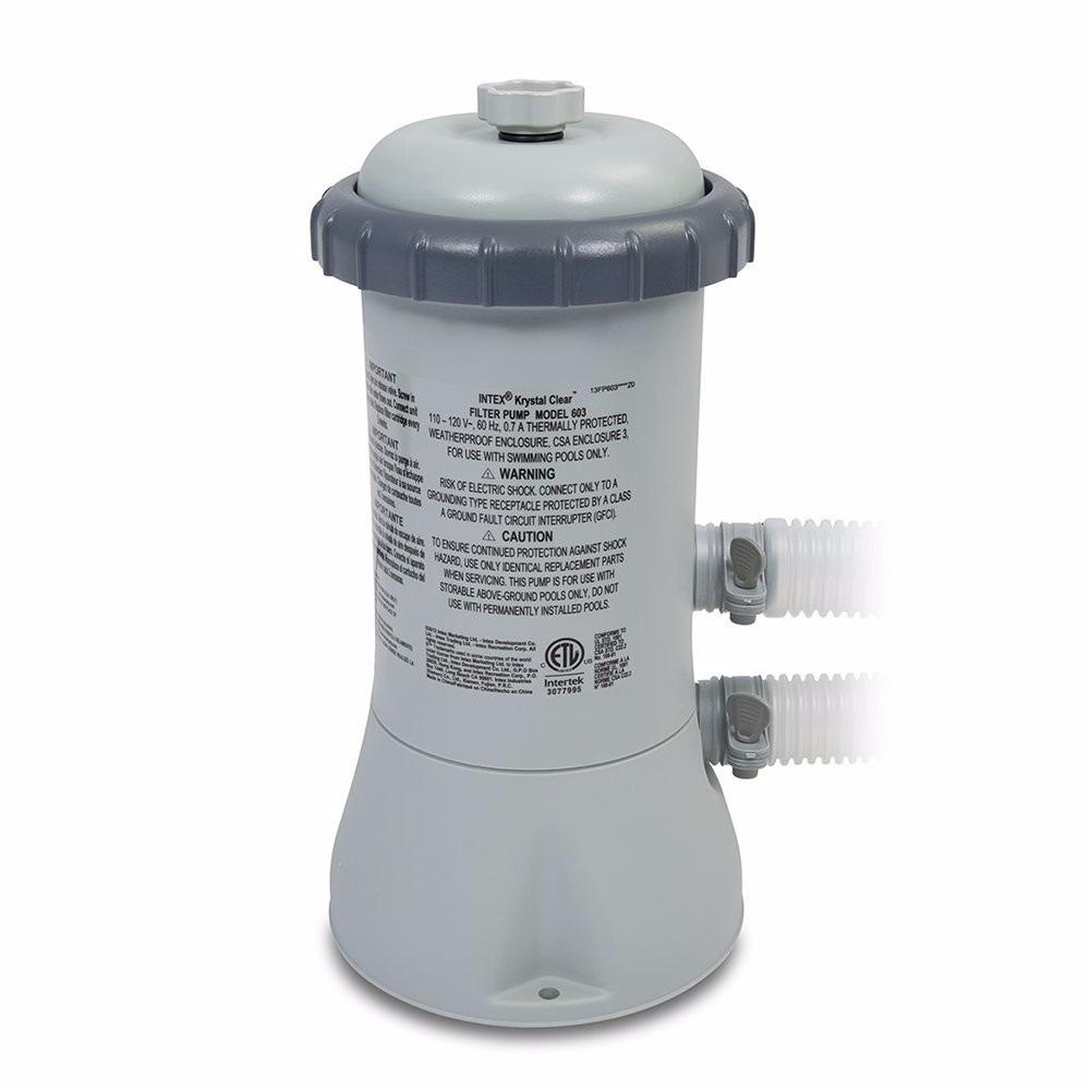 Bomba filtrante de alberca intex 530 gph filtro y for Albercas armables intex