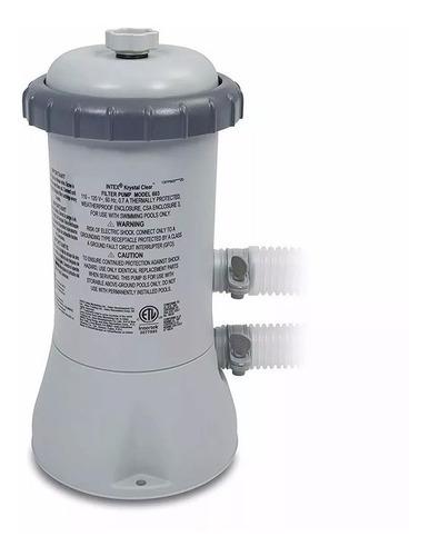 bomba filtrante para alberca tipo a 530gph depuradora intex