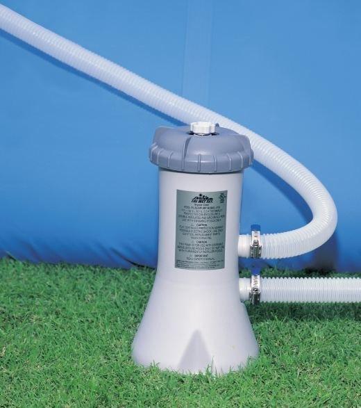 Bomba filtrante para albercas intex bestway 530 gph filtro for Albercas intex precios
