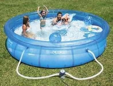 Bomba filtrante piscina bestway 1249 lh 110v n intex Piscinas bestway medidas