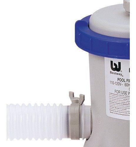 bomba filtrante piscina inflável 2006 l/h bestway filtro 110