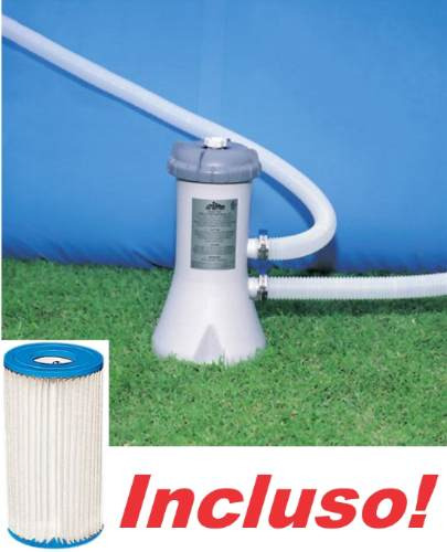 Bomba filtrante piscina intex 2006 lh filtro incluso 110v for Filtro de piscina intex