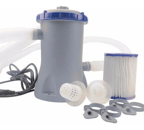 bomba filtro bestway hasta 16000lts piletas de lona garantia