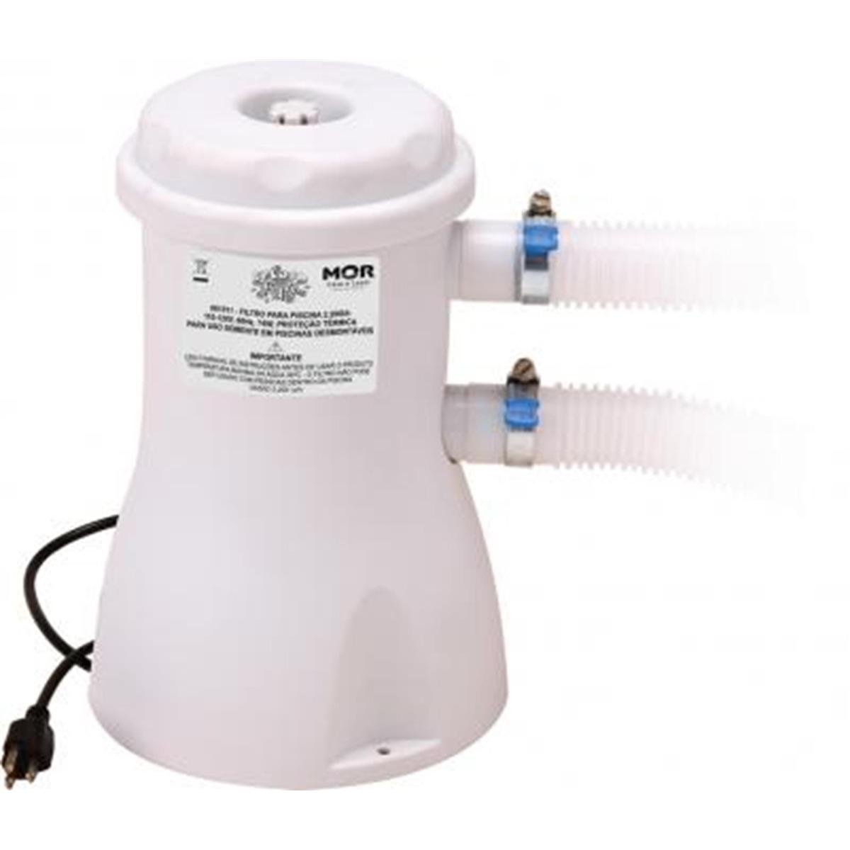Bomba filtro para piscina 2200l h 110v mor r 213 00 for Filtro de piscina