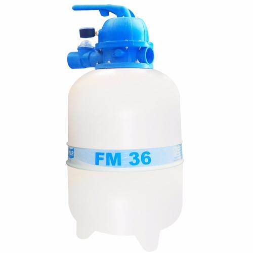 Bomba filtro piscina kit motor 1 3cv 40 mil litros for Bomba piscina