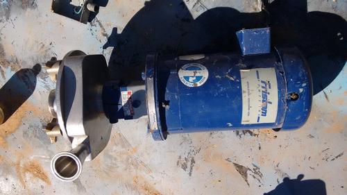 bomba fristam fpx acero inoxidable 5 hp.nunca usada