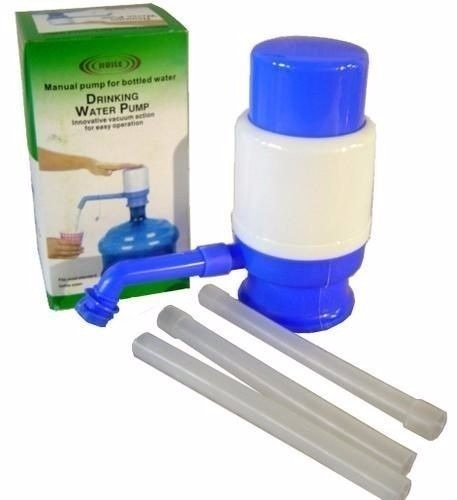 Bomba garraf o manual gal o 10 20 litros gua mineral for Bomba de agua manual