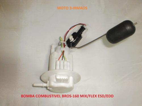 bomba gasolina bros nxr-160 todas mix nova original honda