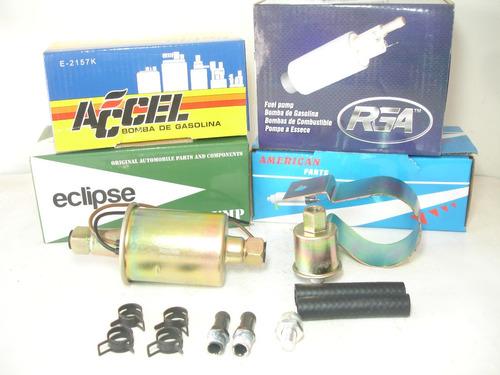 bomba gasolina eléctrica chevrolet 305 350 carburado 8012