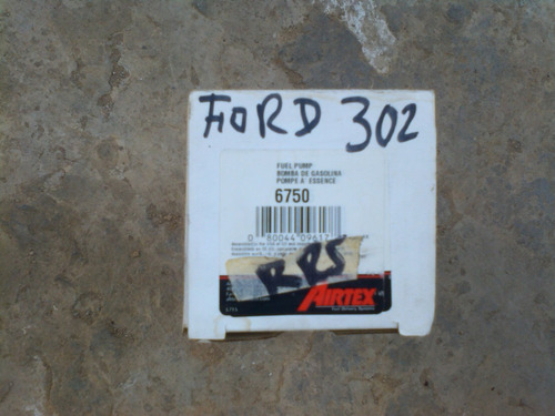 bomba gasolina ford 302-351 mecanica airtex #6750