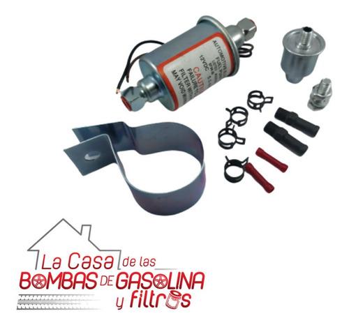 bomba gasolina universal eléctrica motor carburado