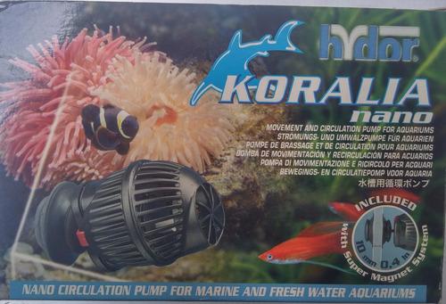 bomba gene  nano olas koralia 250gph ac marino tropicales