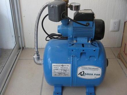 Bomba hidroneumatica o presurizador 24 lts para 2 ba os for Precio de hidroneumatico
