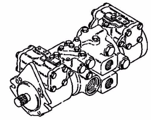 bomba hidrostatica traccion usada en buen estado bobcat 863