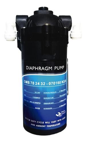 bomba impulsión diafragma 400gpd osmosis inversa filtro agua