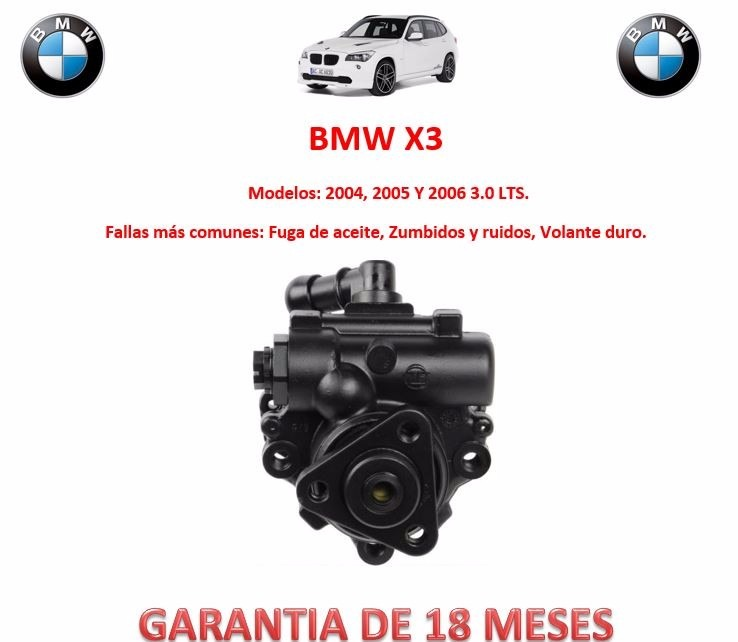 bomba licuadora direccion hidraulica bmw x3 motor 3 0 2004 2 en mercado libre. Black Bedroom Furniture Sets. Home Design Ideas
