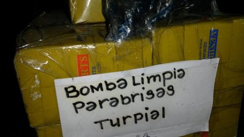 bomba limpia parabrisas turpial