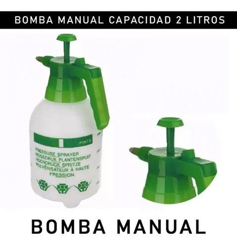 bomba manual de aspersión