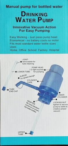 bomba manual dispensadora para garrafón de agua.