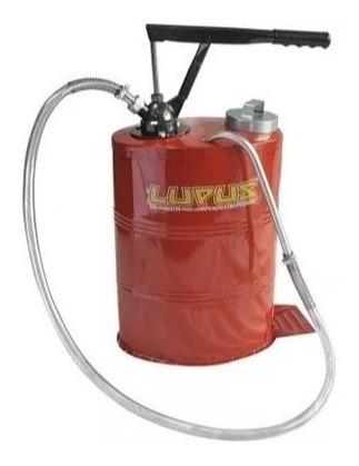 bomba manual para óleo de câmbio 18 litros - 9005 - lupus