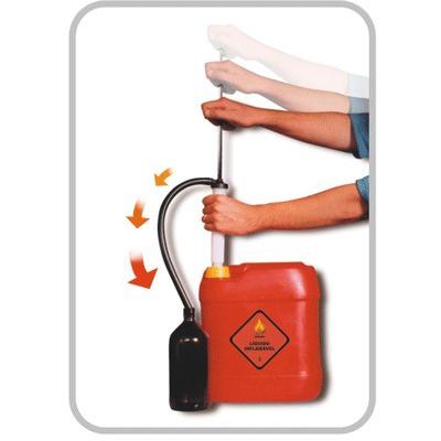 bomba manual para sugar combustível gasolina - diesel