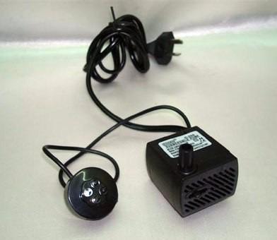 Bomba / Motor Fuente De Agua Con Luz. 5w - $ 200,00 en Mercado Libre