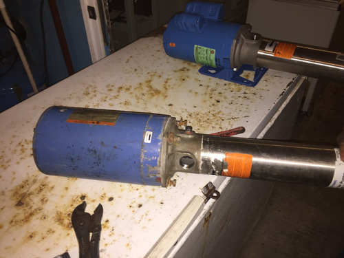 bomba multipasos 3 hp fallas en impulsor