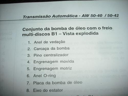 bomba  óleo câmbio automático 5040 vectra mareia volvo s850