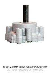 bomba oleo completa cb450
